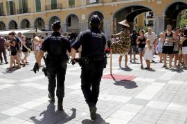 Die Polizei beschlagnahmte zahlreiche Gegenstände in Palma de Mallorca.