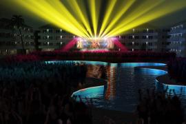 Musik im Wasserpark, so das Konzept im neuen BH Mallorca.