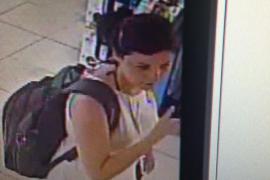 Bilder von Überwachungskameras ermöglichten nun die Identifizierung der Frau.