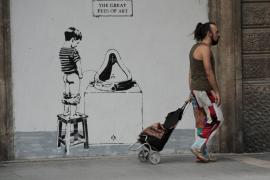 Sprühte Banksy auf Mallorca?