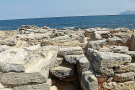 Besteht aus 110 Gräbern: Nekropolis von Son Real.