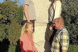 Rolf Schaffners Sohn Joan mit Frau Romi, Sohn Jordi und Nichte Aina.
