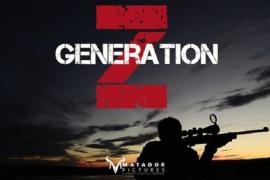 """Werbefoto für den Zombie-Fim """"Generation Z""""."""