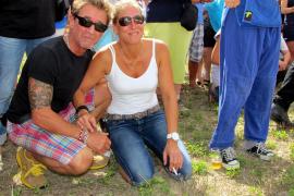 Peter Maffay und seine Frau Tania.