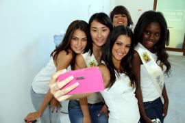 """Die Kandidatinnen zur """"Wahl der Miss Tourism Spain"""" auf Mallorca. Foto: J. Aguirre"""