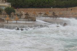 Wind und Wellen im Norden Mallorcas