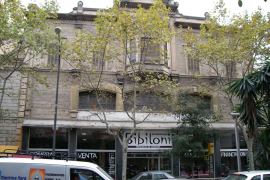 Historisches Autohaus Can Bibiloni in Palma.