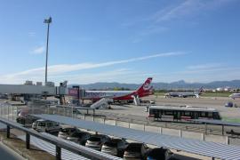 Terminal A im Winter geschlossen