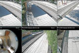 212 Kameras für Mallorcas Bahnhöfe