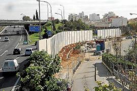 Lärmschutzwand an Palmas Vía de Cintura