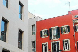 """Zukunft trifft Vergangenheit. Im Viertel """"Sa Gerreria"""" findet man moderne Architektur neben alter Bausubstanz."""