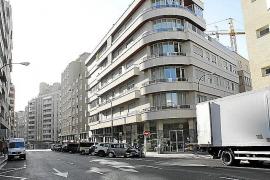 An die Stelle der drei abgerissenen Windmühlen wurden in der Calle Industria Häuserblocks errichtet.