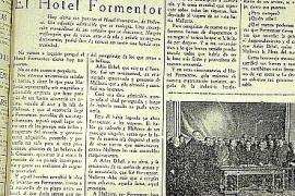 """Die Titelseite der """"Ultima Hora"""", als das Hotel Formentor am 14. Dezember schließen musste."""