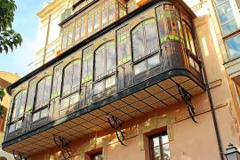 Dieses Gebäude wurde Ende der Neunziger zur schönsten Fassade Palmas gewählt.