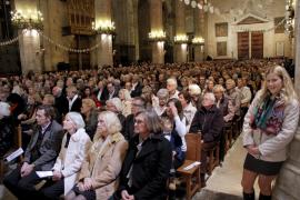 Über 5000 Besucher kamen zu den Gottesdiensten in der Kathedrale von Palma de Mallorca.