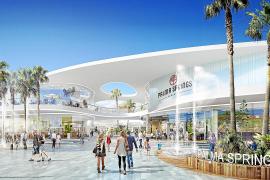 """OKTOBER: Der Konzern Unibail-Rodamco stellt die Pläne für sein Einkaufszentrum """"Palma Springs"""" an der Playa de Palma vor."""