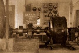 Das kleine Elektrizitätswerk, das der Schweizer Hans Williger installierte.