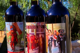Weinetikett zu Sant Antoni in Sa Pobla