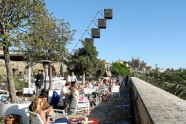 Das Restaurant beim Museum Es Baluard gehört zu den Attraktionen rund um den Paseo Mallorca.
