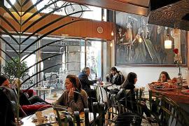 Das Café Gallery Ciutat am Paseo Mallorca.