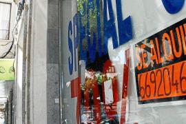 Viele Ladenlokale in Palma scheinen leer zu stehen.