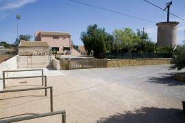 Die besetzte Pferdefinca auf Mallorca. Foto: UH