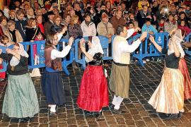 Auftakt des mehrtägigen Patronatsfestes Sant Sebastià in Palma.