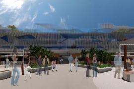 Noch ist es nur eine Animation: So stellt sich das andalusische Unternehmen Mercados Gastronómicos die Markthalle im Hafenbereic