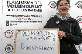 Ehrenamtliches Engagement verändert das Lebensgefühl, meint Marga Gayà vom Verband der Freiwilligendienste.