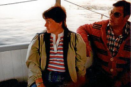 Ingrid Heiliger und ihr Mann Wolfgang bei einer ihrer Reisen auf Ibiza in den 1970er Jahren.