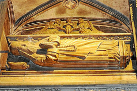 In einer Kapelle der Basilika Sant Francesc in Palma befindet sich das Grab von Ramon Llull.