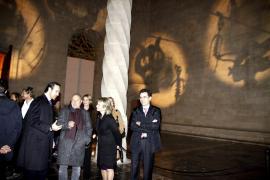 Bei der Vernissage am 17. Januar gaben sich die Spitzen der mallorquinischen Geselschaft ein Stelldichein in der Lonja.