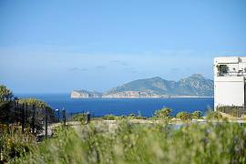 Ausblick auf Sa Dragonera von La Mola aus.