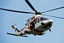 Deutsche per Helikopter aus Schneefalle gerettet