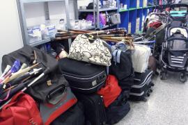 Mehr als 6000 Fundsachen am Flughafen Palma