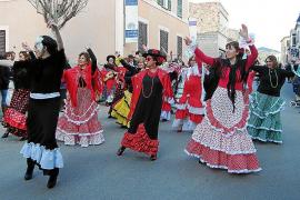 Auch in Cas Concos wird Fasching gefeiert.