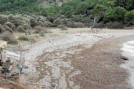 Die Cala Tuent im Februar 2015.