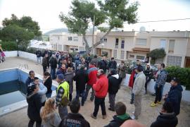 Mallorca-Residenten den Strom gekappt