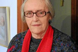 Isabel Raabe Serra in ihrer Wohnung in Palma.