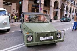 Ein Kübelwagen durfte auf der Jaume III nicht fehlen.