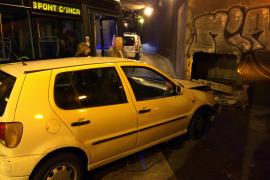 Unfall im Unterführungstunnel der Avenidas, unweit des Kaufhauses El Corte Inglés in Palma.