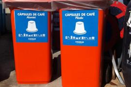 Palma bietet Mülltonne für Kaffeekapseln