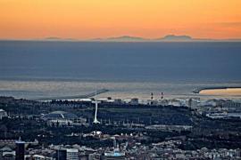 Mallorca von Barcelona aus gesehen