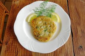 Beliebteste Zubereitungsart auf Mallorca ist eine flache Krokette oder Tortilla.