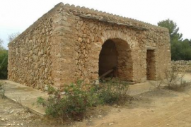Unter anderem soll auch diese Hütte im Naturpark Mondragó auf Mallorca wieder hergerichtet werden.