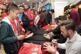 Real Mallorca Fan-Shop wiedereröffnet