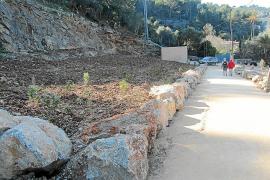 Das renaturierte Gelände des ehemaligen Hotels Rocamar auf Mallorca.