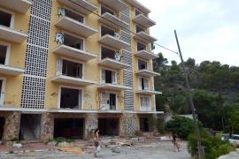 Verschwunden: Die Ruine des ehemaligen Hotels Rocamar wurde beseitigt.