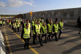 Am Dienstag noch hatten die Politiker auf Mallorca in Begleitung der spanischen Verkehrsministerin Ana Pastor den neuen Autobahn