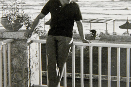 Reinhold König 1965 und 2015, beide Male im Hotel Riu San Francisco an der Playa de Palma.